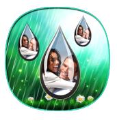 雨滴下落相框安卓版 v1.1