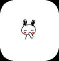 可爱兔子QQ表情包