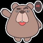 翔通动漫屌丝熊表情合集