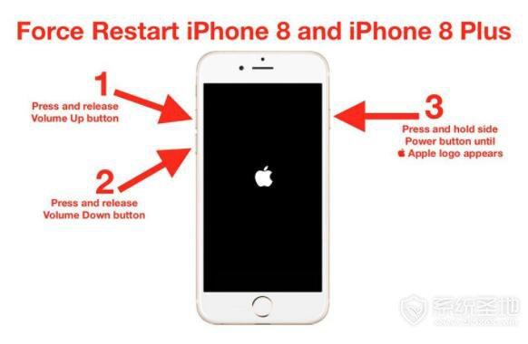 iphone8怎么强制重启?