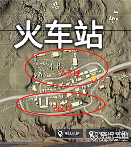 刺激战场沙漠地图火车站怎么打2