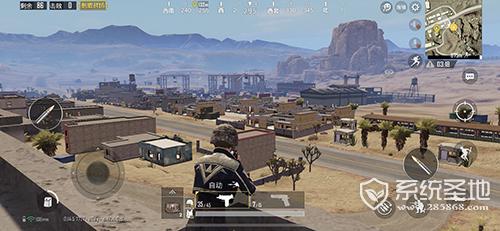 刺激战场沙漠地图火车站怎么打5